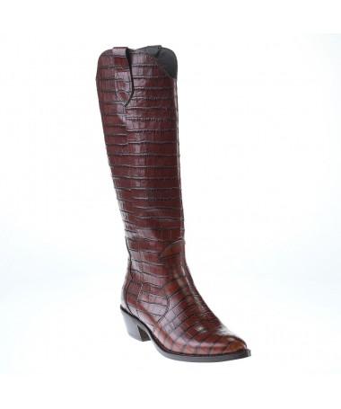 ALPE CAMPERAS ROSE BOOTS 4376 MARRON COWBOY